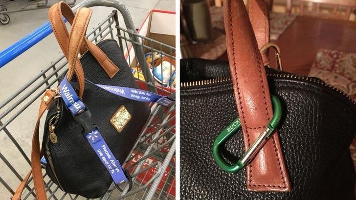 Как защитить сумку от кражи в супермаркете